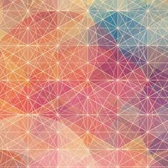 Colorful, geometry-based HD desktop wallpapers by Simon Page (designed for iPad 3 but large enough for monitors)