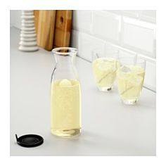 IKEA - VARDAGEN, Carafe with lid, 17 oz, , Slim carafe with a practical lid, ideal for storing in the fridge door.