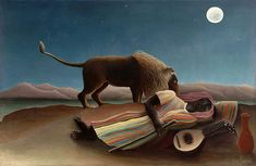 Douanier Rousseau - Art Naïf - L'Innocence archaïque