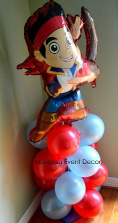 """Photo 1 of 19: All about the sea / Birthday """"Jake and the Neverland Pirates/Finding Nemo """" 