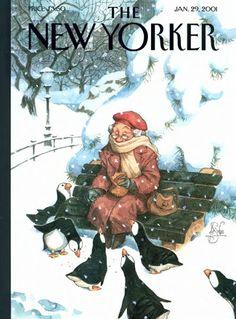 Animalarium: New York Stroll / Peter De Seve