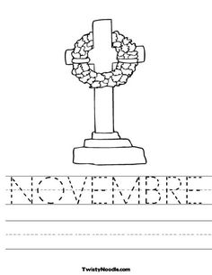 NOVEMBRE worksheet that you can customize and print for kids. Holiday Activities, Learning Activities, Kids Learning, Activities For Kids, Crafts For Kids, Teaching Ideas, Memorial Day Coloring Pages, Remembrance Day, Teaching French