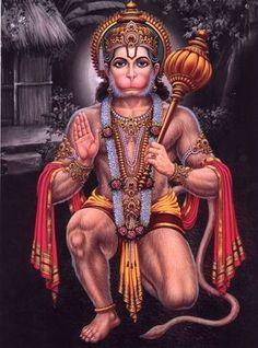 Blessing Hanuman in Veerasan Hanuman Jayanthi, Hanuman Tattoo, Hanuman Photos, Hanuman Images, Ganesh Images, Krishna, Hanuman Ji Wallpapers, Kali Goddess, Lord Murugan