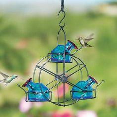 Ferris Wheel Hummingbird Feeder