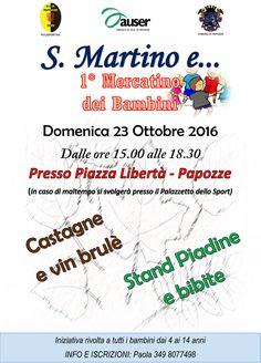 S. Martino e 1° Mercatino dei Bambini - 23 Ottobre 2016