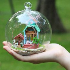 Christmas Gift DIY Do it Youself Doll House by barvazon10 on Etsy