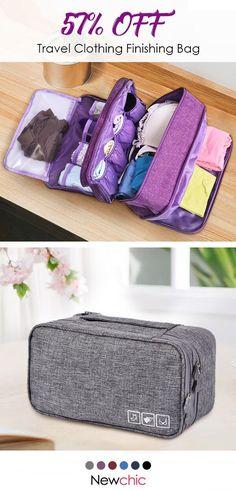a4208b382e  57% off Travel Clothing Finishing Bag Travel Clothes Underwear Bra Storage  Bag.