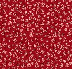 Tutorial for how to create a Christmas themed repeating pattern on Illustrator, also great for making any repeating pattern