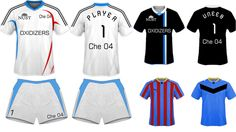 design a sports kit or tshirt for you with mockups by faizananwar