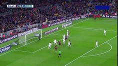 Gerard Pique goal vs Real Madrid (1-0)