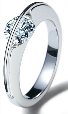 unusual diamond ring