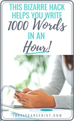 Learn to type 1000 words an hour with this bizarre writing hack! Ends writers block and fires up your productivity like nobody's business! Writing Jobs, Fiction Writing, Writing Advice, Start Writing, Writing Topics, Writing Prompts, Learn To Type, Writing Portfolio, Tips & Tricks