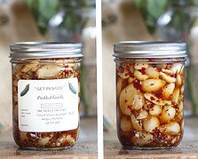 The Pickle Factory in Vergas, MN | PICKLED GARLIC