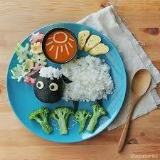 Resultado de imagem para comida decorada