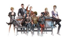 Just finished watching (couldn't play it) Life is Strange... It was a beautiful game