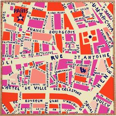 Equally at home in an artful collage or on its own as an eye-catching focal point, this charming framed print showcases a colorful map of Paris....