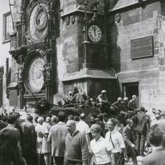 Fotogalerie: Dramatické události srpna 1968 v Praze