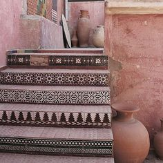 Take a look at these Moroccan Interior Design Ideas for inspiration. Moroccan style living room furniture suggestions that will create an authentic Moroccan feel. Moroccan Design, Moroccan Decor, Moroccan Style, Moroccan Bedroom, Moroccan Lanterns, India Decor, Tile Stairs, Moroccan Interiors, Stairway To Heaven