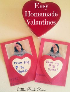 How to Make Easy Valentine Cards for Kids with Bible Verses #Valentinesdaycrafts