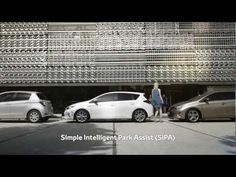 New Toyota Auris Hybrid: Simple Intelligent Park Assist (SIPA)