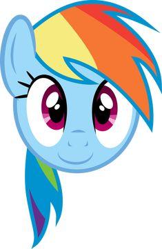 Main 6 faces - Rainbow Dash Adobe Illustrator File More Main 6 Faces Rainbow Dash Face My Little Pony Balloons, Festa Do My Little Pony, My Little Pony Costume, My Little Pony Unicorn, Little Pony Cake, My Little Pony Birthday Party, Festa Rainbow Dash, Rainbow Dash Birthday, Rainbow Dash Party