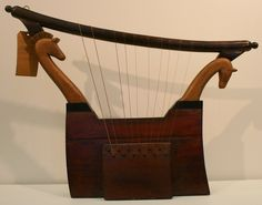egyptian harp | MUSICAL INSTRUMENTS OF ANCIENT TIMES: The Charles Lanphere Collection