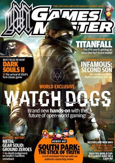 #Gamesmaster  276. Must-read review! Dark souls II - The arrival of 2014's first classic game, Brand new hands-on with the future of open-world gaming! And much more...