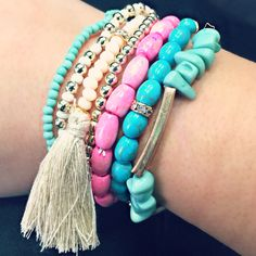 Bright & Beautiful Arm Candy!