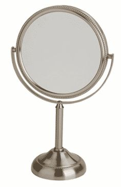 Jerdon Tabletop Two-Sided Swivel Vanity Mirror with Magnification Magnifying Mirror, Mirrors, March, Vanity, Tabletop, Dressing Tables, Powder Room, Table, Mirror
