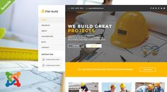 Flatbuild - Construction Joomla Template . Flatbuild- is clean construction & business Joomla Template and retina ready. It is great, professional and easy to use template. You can use it for, business, construction, renovation, electricy, isolation