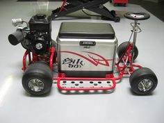 barstool gokart and cooler - Google Search