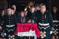 Kathy Cirillo, center left, with the coffin of her son, Cpl. Nathan Cirillo, in Ottawa on Friday. He was killed by a gunman in Ottawa. Photo A Day, First Photo, Royal Canadian Navy, Canadian Soldiers, Remember Day, Iconic Photos, Remembrance Day, International News, Nbc News