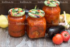 Манжо - еще одна заготовка на зиму из баклажанов. Это болгарский рецепт приготовления овощей на зиму. Для приготовления манжо вам потребуются баклажаны, сладкий перец, сочные спелые помидоры, лук, мор…