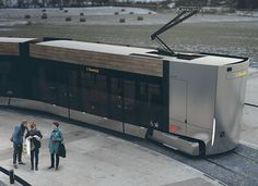 This tram has been designed to answer the challenge of designing modern and appealing transportation for Klaipeda. This public transportation must reflect the Transportation Technology, Future Transportation, Polaris Slingshot, Train Truck, Futuristic Design, Aircraft Design, Design Blog, Machine Design, Commercial Vehicle