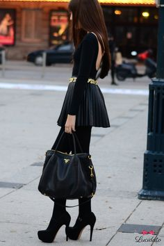 all black look , love it #fashion #style