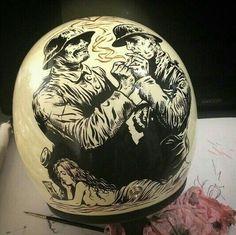 custom paint helmets biltwell