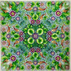 WEBSTA @ cherrycolours - #secretgardencoloringbook #johannabasford