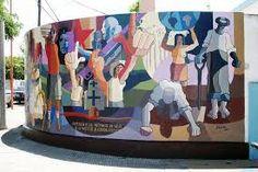 mural Brown y Rosales, Punta Alta, Argentina