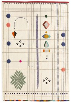 This is perfect.and a million dollars Tapis Rabari, design Doshi Levien (Nanimarquina) Textiles, Textile Patterns, Textile Design, Textile Fiber Art, Home Textile, Art Du Fil, Arte Popular, Deco Design, Surface Pattern Design
