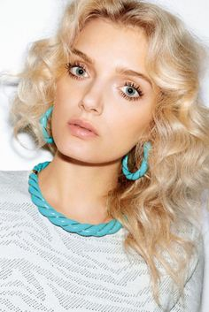 ELLE JAPON - Diana Turquoise Twisted Necklace