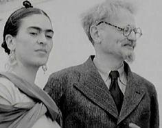 Frida y Leon Trotsky, con quien mantuvo un romance breve pero intenso