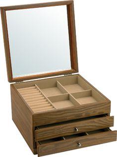 Joyero personalizado de madera lo que hago con mis - Caja joyero ikea ...