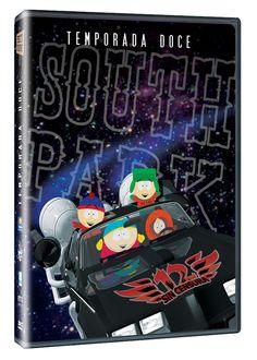 Diseño publicitario de DVD's - Stop Diseño Gráfico - Diseño de South Park - Temporada 12 - Comedy Central - Televisa.
