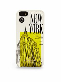 Kate Spade New York New York Map Hardcase For iPhone 5lov elove love