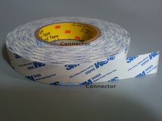 26.70$  Watch here  - 30mm width, 50 Meters, Double Coated Tissue White Tape for Plastic film , Nameplate, Screen, LCD Bond