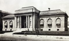 Fresno got it's first permanent library in 1904 at 1330 Broadway St. thanks to a $30,000 grant from Andrew Carnegie.