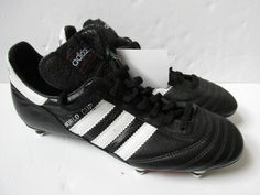 best service c4c10 60442 adidas world cup mundial SG K leather mens football boots 011040 soccer  cleats.