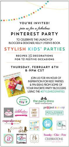 stylish kids parties pinterest party