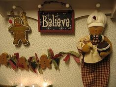 Gingerbread Man Garland & Crafts