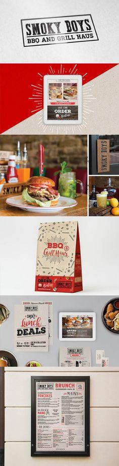 Restaurant branding, menu design, graphic design and website design